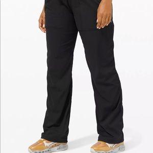 Lululemon Lined Dance Studio Pants Black Size 12